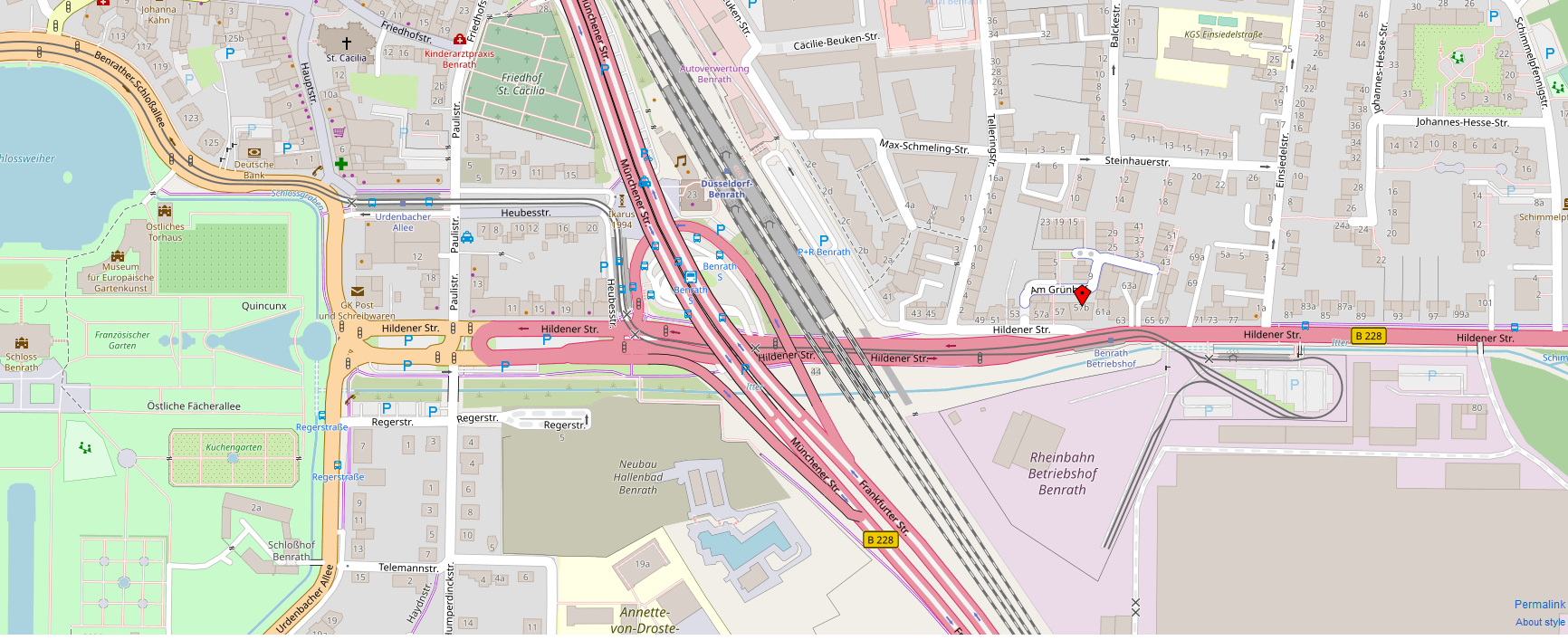 OpenStreetMap Karte